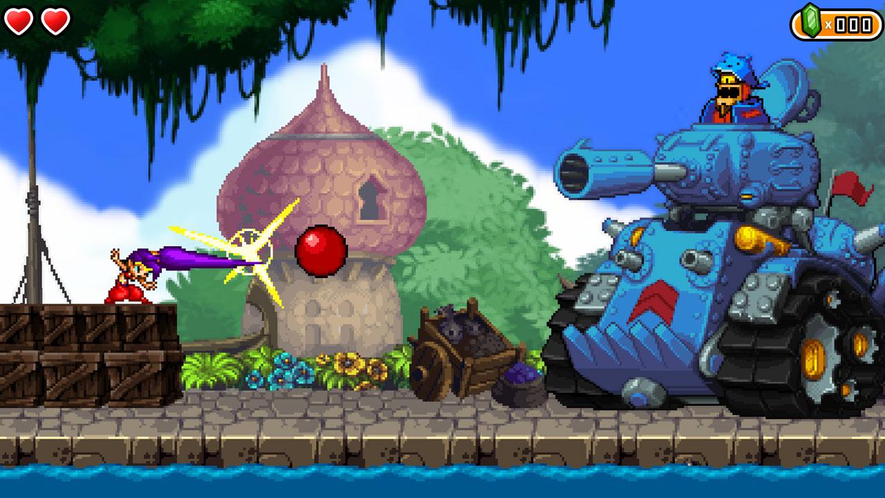 Shantae and the Pirate's Curse Captura 1