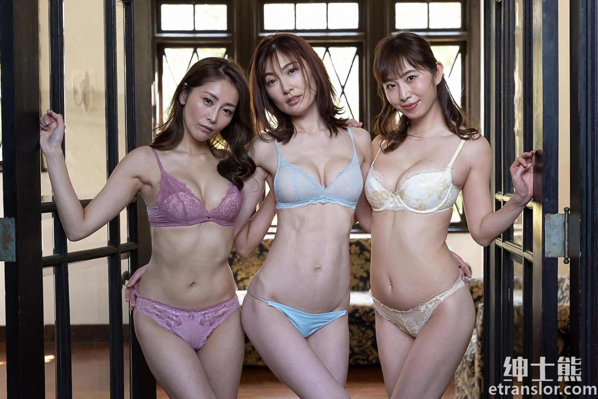 日本写真女星:熊切麻美、塩地美澄、熊田曜子三人组合岁月不改 养眼图片 第23张