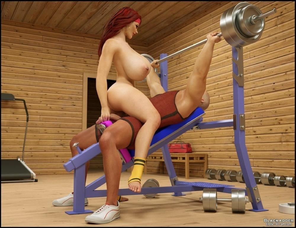Pornhub in the gym-4358