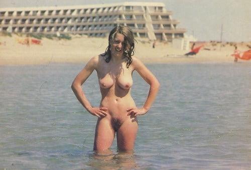Hot girls naked at beach-5737