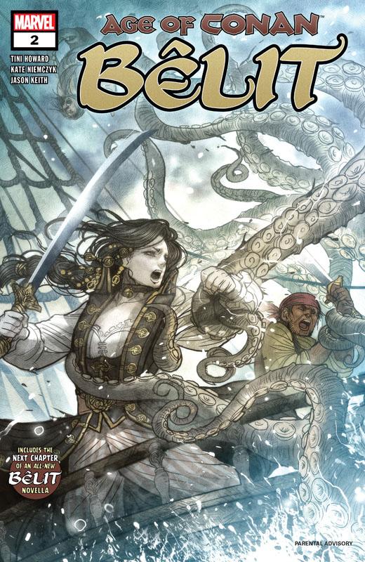 Age Of Conan - Belit, Queen Of The Black Coast #1-5 (2019) Complete