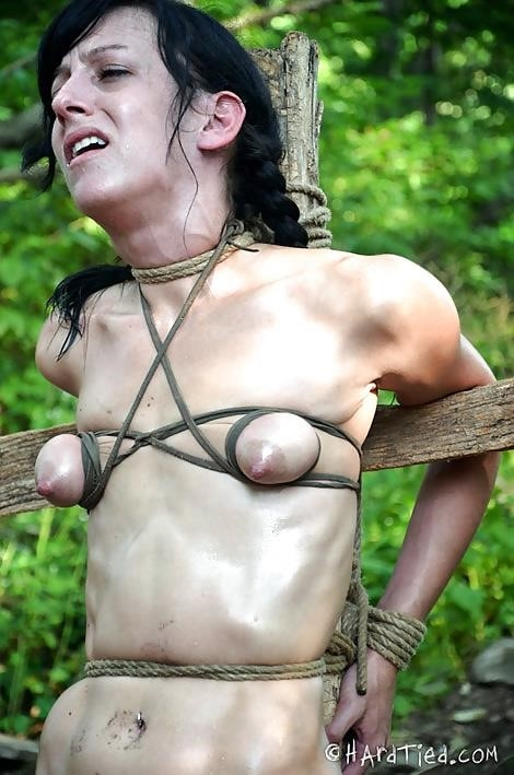 Breast bondage and torture-7131