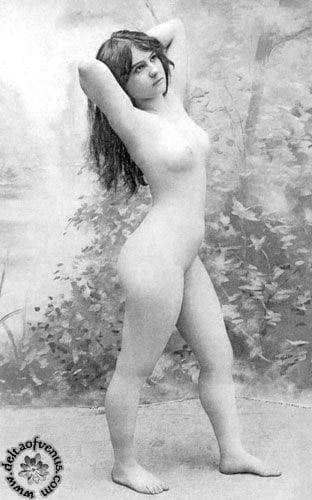 Vintage hairy nude-1645