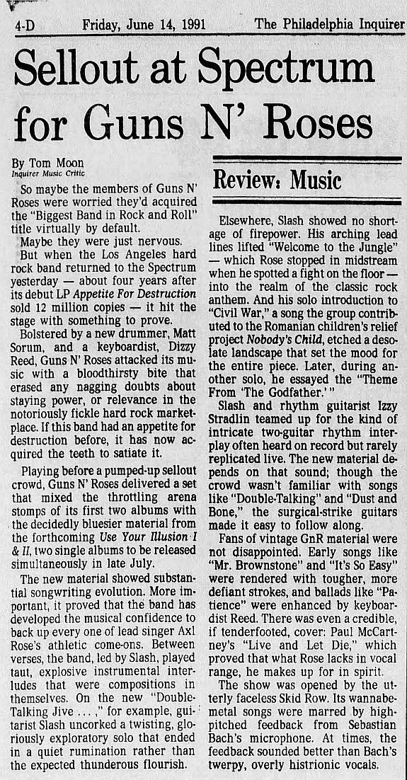 1991.06.13 - Philadelphia Spectrum, Philadelphia, USA LwbTI3BZ_o