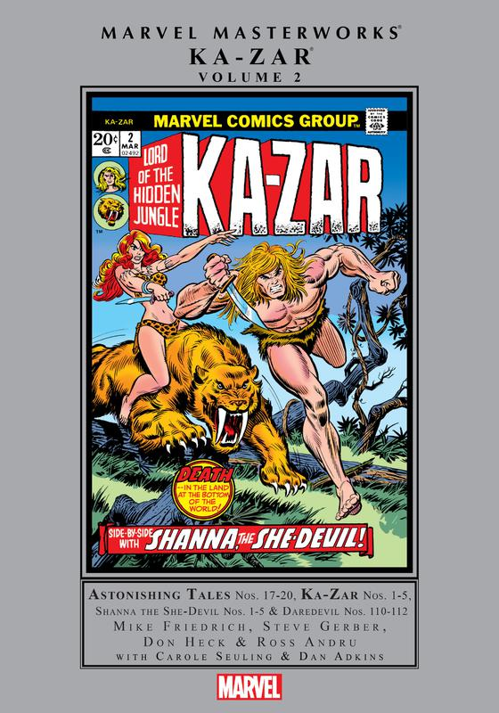 Marvel Masterworks - Ka-Zar v02 (2018)