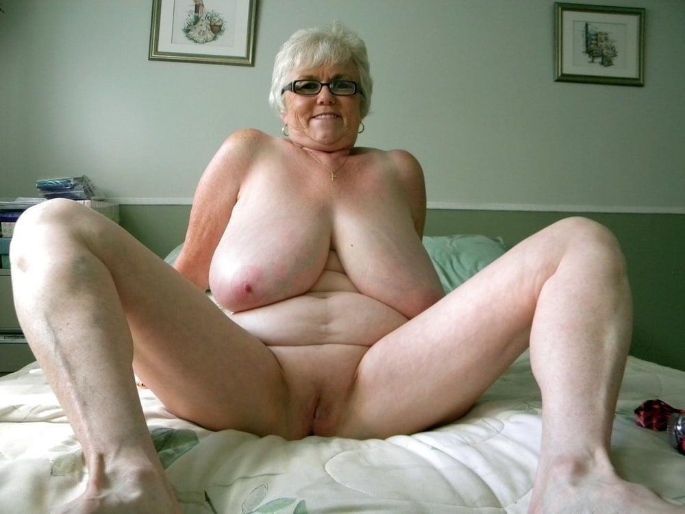 Chubby granny boobs-8073