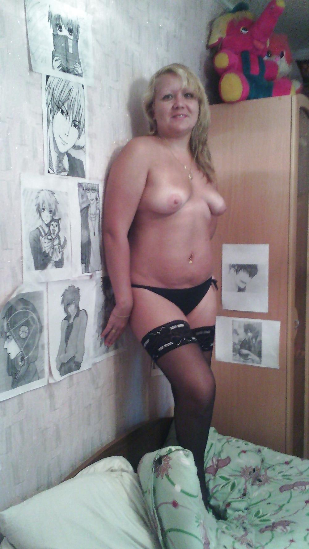 Wife naked stockings-7997