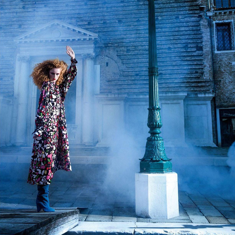 Венецианская фантазия Рианны ван Ромпай / Rianne van Rompaey by Inez van Lamsweerde and Vinoodh Matadin - Vogue Paris november 2017