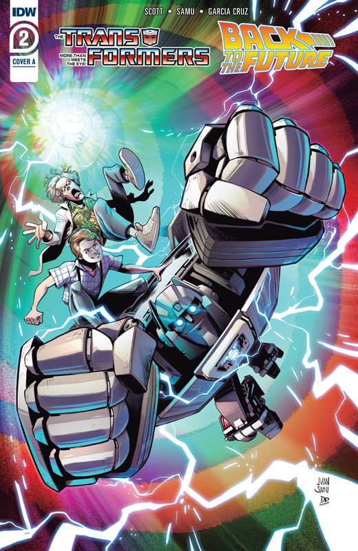 Transformers - Back to the Future #1-2 (2020)