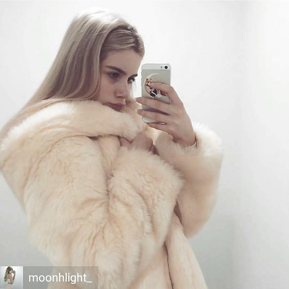 Jean jacket with fur inside-2815