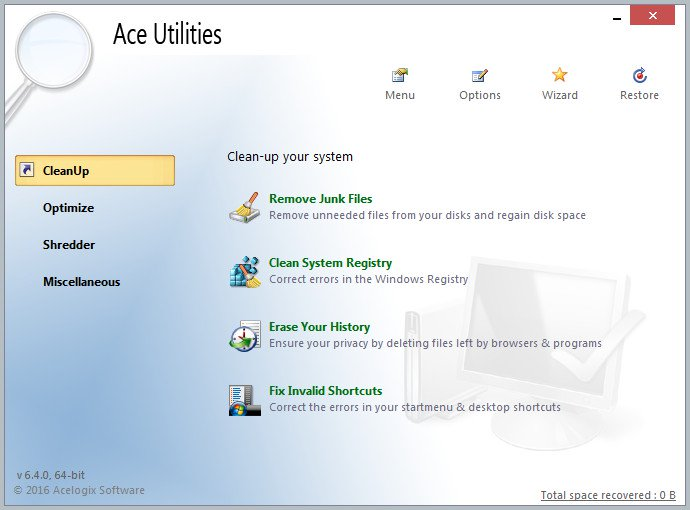 EgLEgyhZ o - Ace Utilities 6.4.0 Build 295 [Utilidades de optimizacion] [UL-NF]