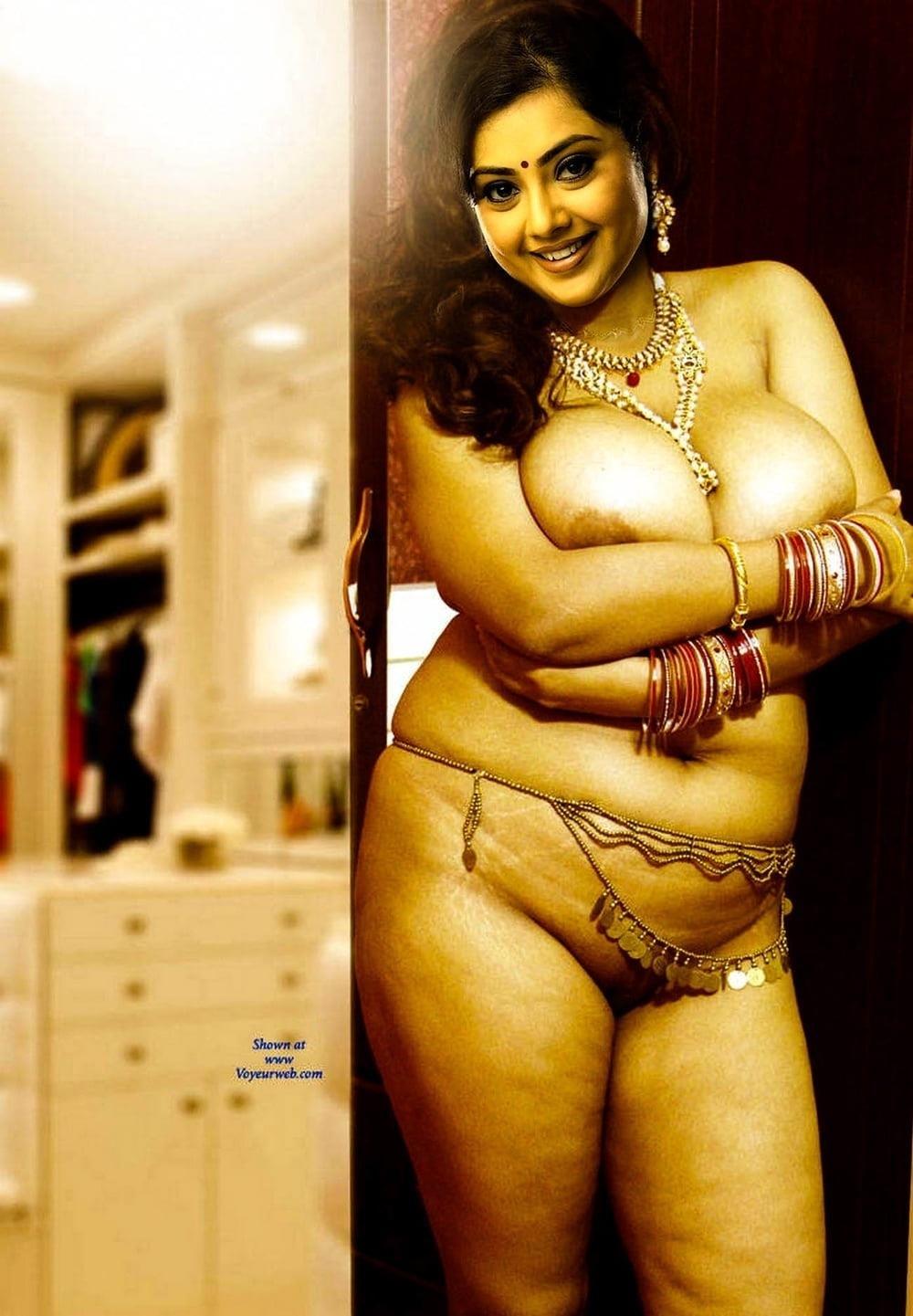 Meena hot kiss-8416