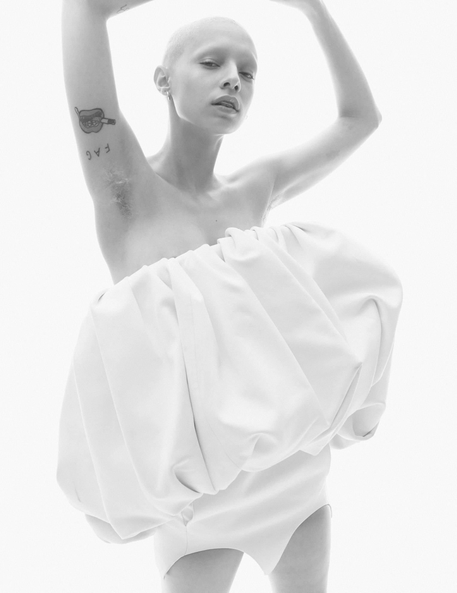 Jazzelle Zanaughtti by Daniel Jackson - i-D Magazine summer 2018