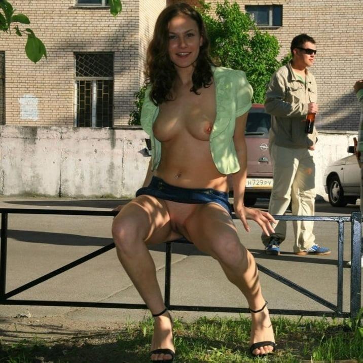 Fondling boobs in public-4570