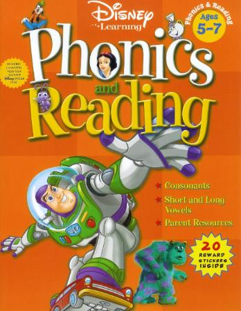 disney learning phonics and reading