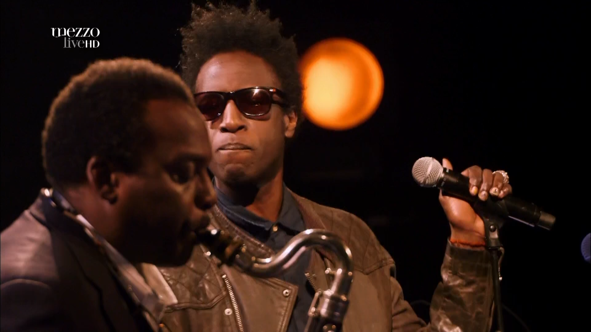 2015 David Murray Infinity Quartet feat. Saul Williams - Disruption at Banlieues Bleues Jazz Fest [HDTV 1080i] 4