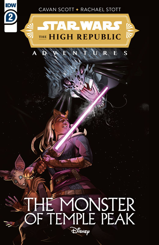 Star Wars - The High Republic Adventures - The Monster of Temple Peak #1-3 (2021) Complete