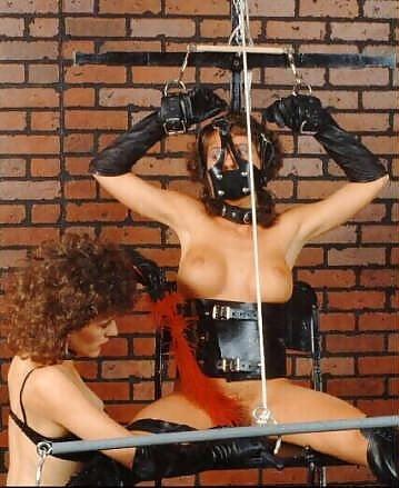 Bondage and gagged girl-8048