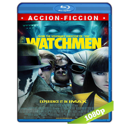 Watchmen Los Vigilantes Full HD1080p Audio Trial Latino-Castellano-Ingles 5.1 2009