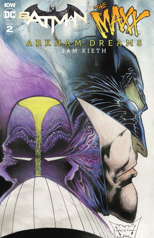 Batman - The Maxx - Arkham Dreams #1-3 (2018)
