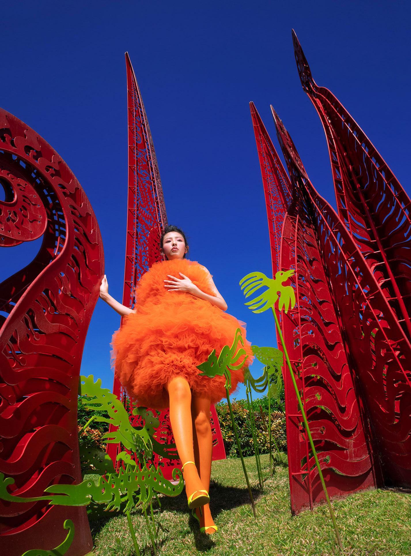 Три грации в рекламной кампании модной одежды Edher Gin, сезон весна-лето 2020 / фото 11