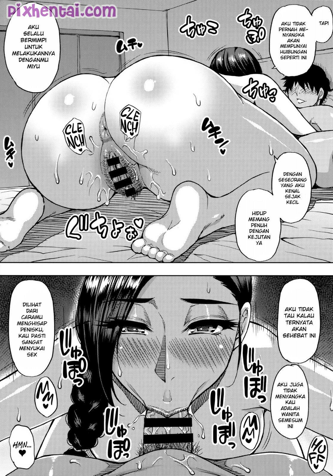 Komik hentai xxx manga sex bokep Ngentot Tante Semok sebagai Upah menjadi Guru Les 16