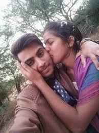 Desi kissing girl-3455