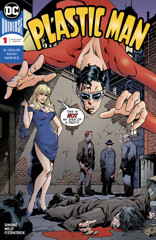 Plastic Man 01 (of 06) (2018)