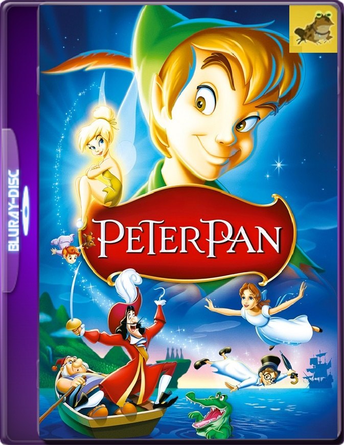 Peter Pan (1953) Brrip 1080p (60 FPS) Latino