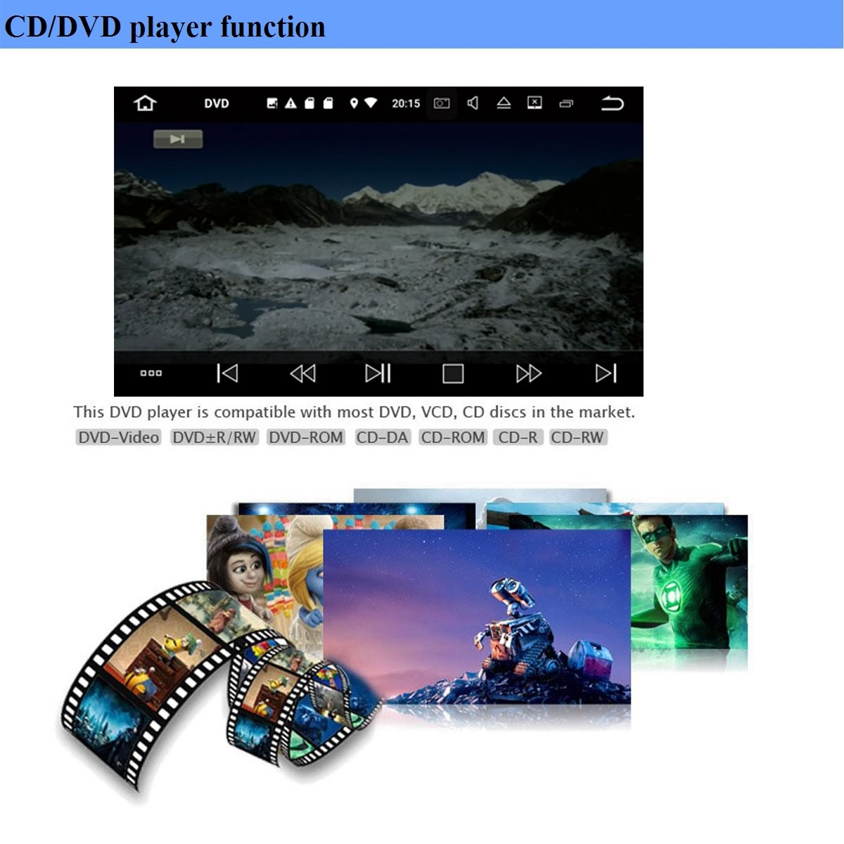 cd dvd player