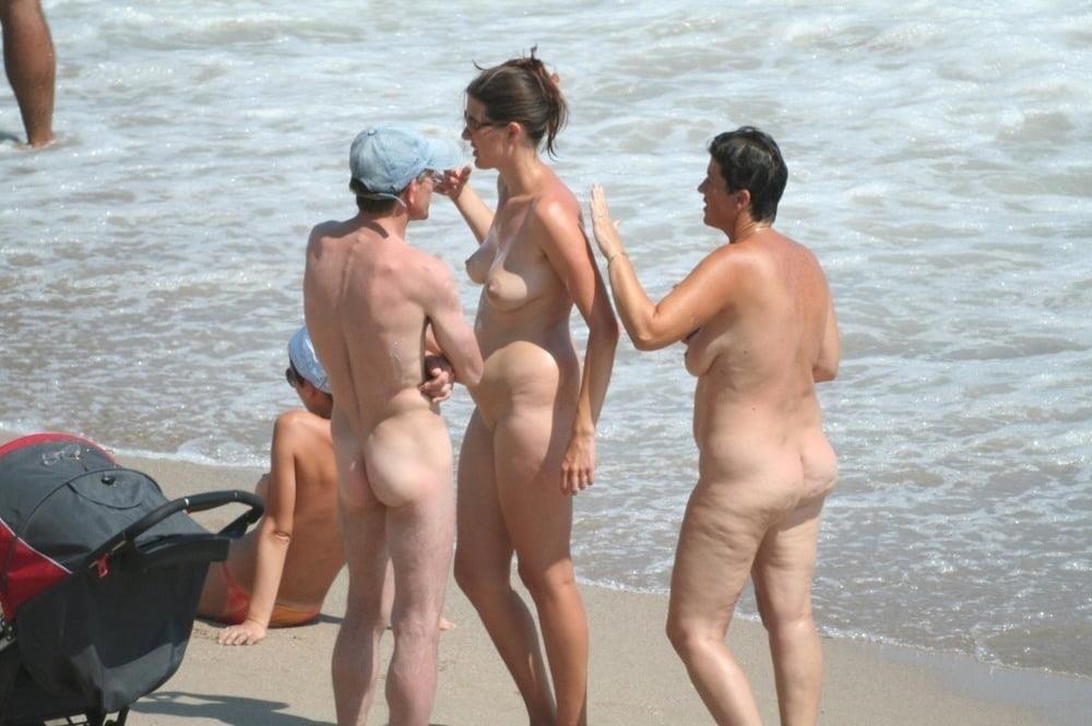 Nude beach bukake-9475