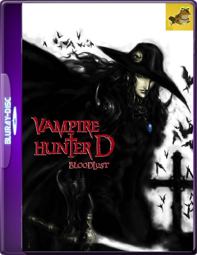 Vampire Hunter D: Bloodlust (2000) Brrip 1080p (60 FPS) Japonés Subtitulado