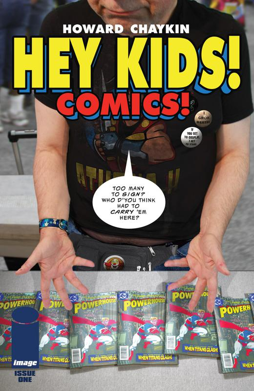 Hey Kids! Comics! #1-5 (2018)