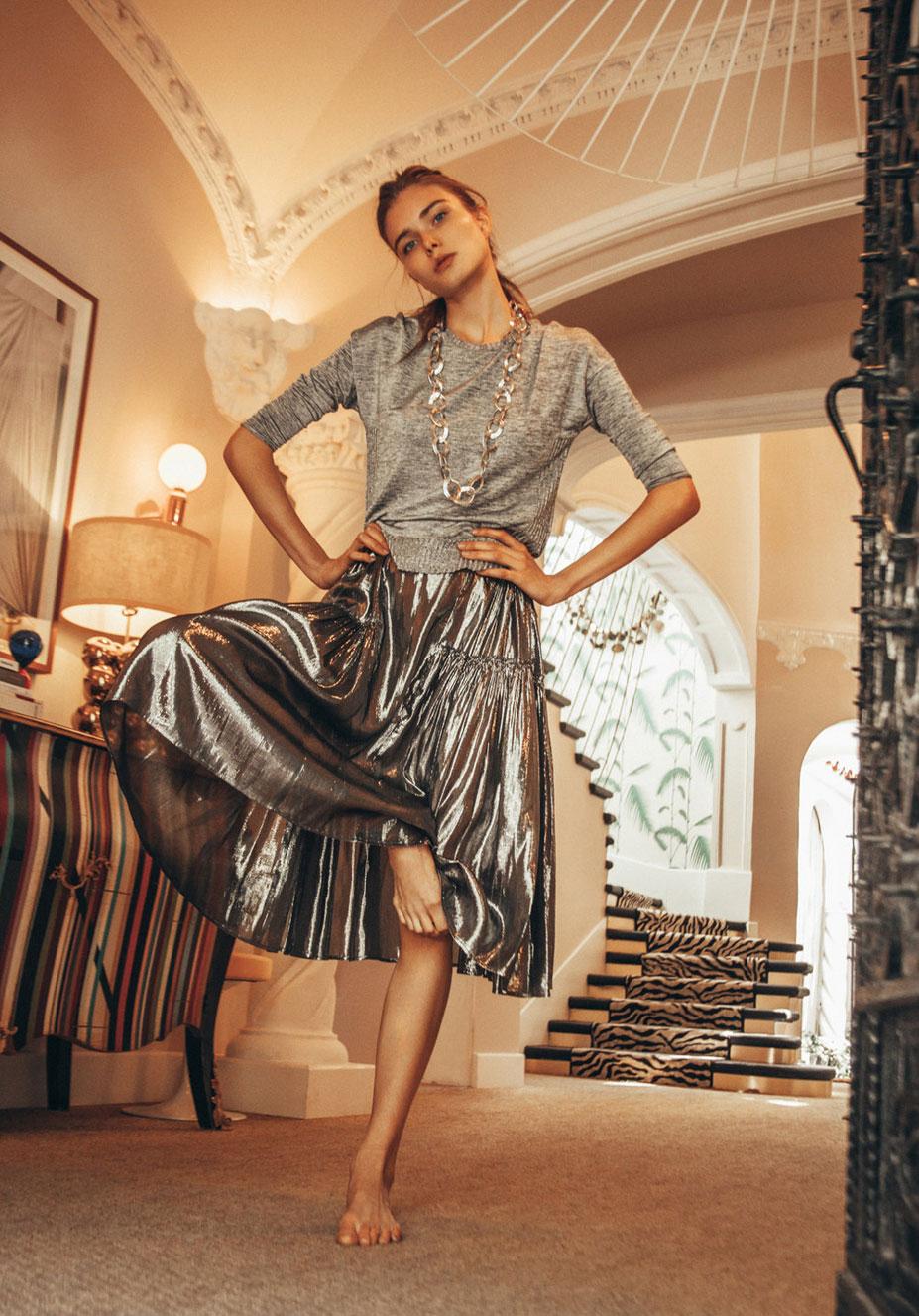 Анна Штольц тестирует модную одежду / фото 18