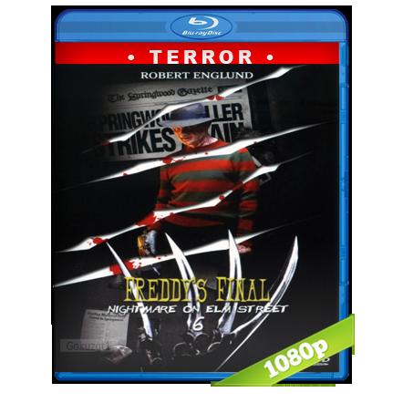 descargar Pesadilla En La Calle Del Infierno 6 [1991][BD-Rip][1080p][Trial Lat-Cas-Ing][Terror] gratis