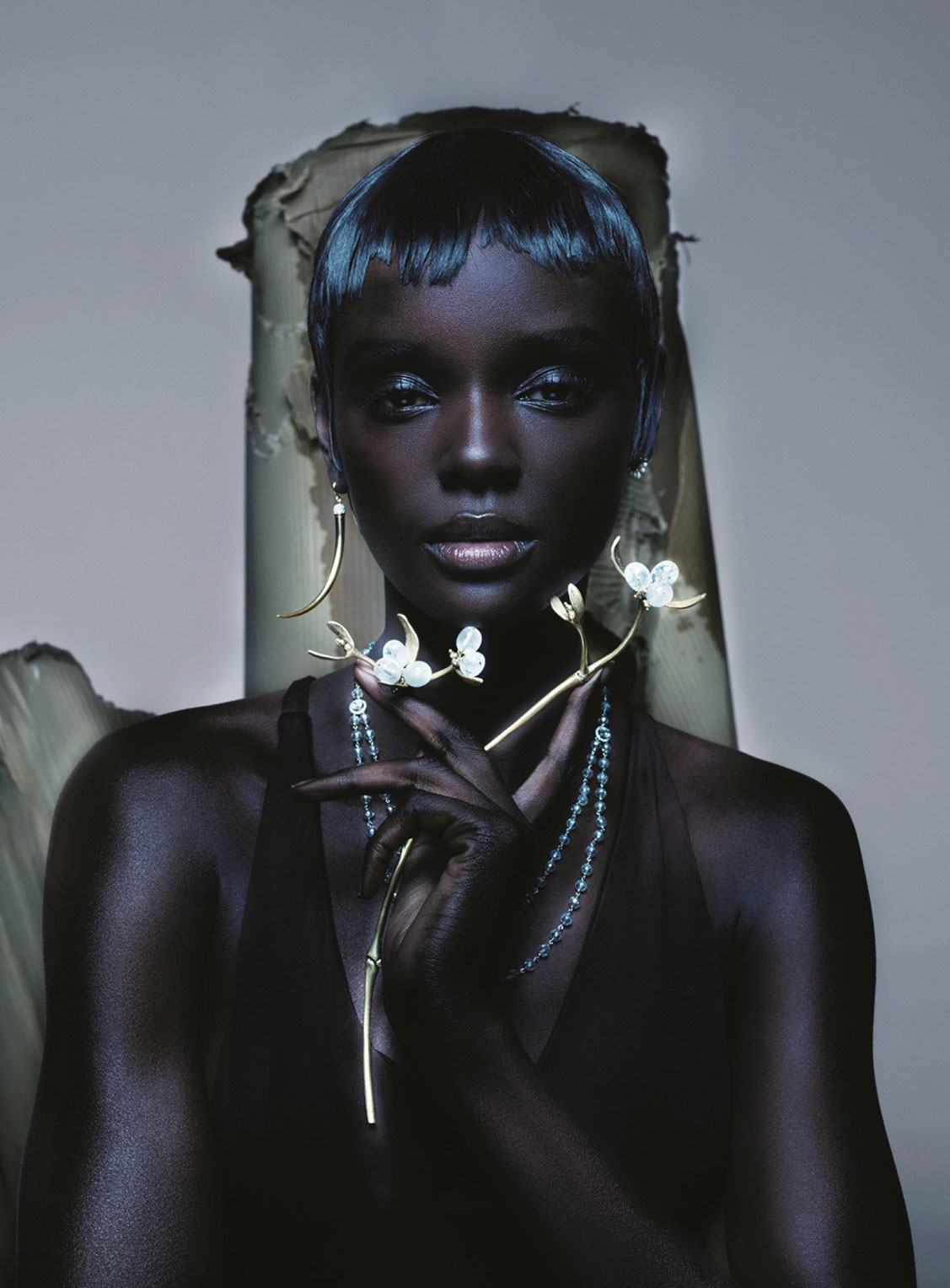 From Byzantium / Duckie Thot by Nick Knight / Vogue UK april 2019