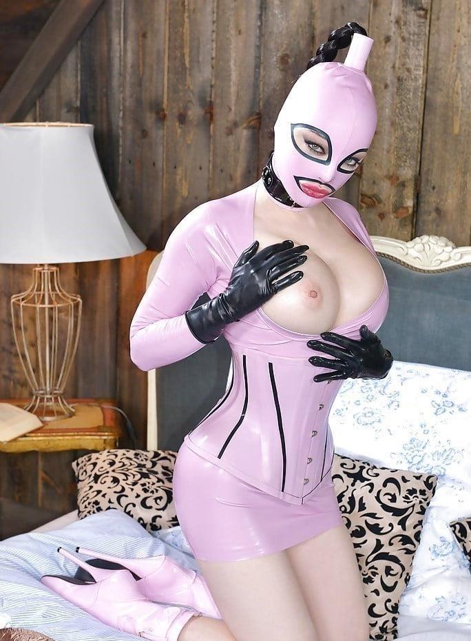 Naked girls latex-6818