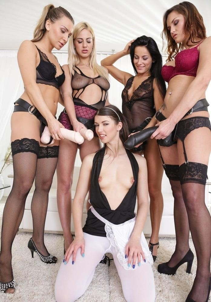 Lesbian group forced porn-5167