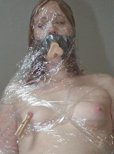 Bondage and gagged girl-2765