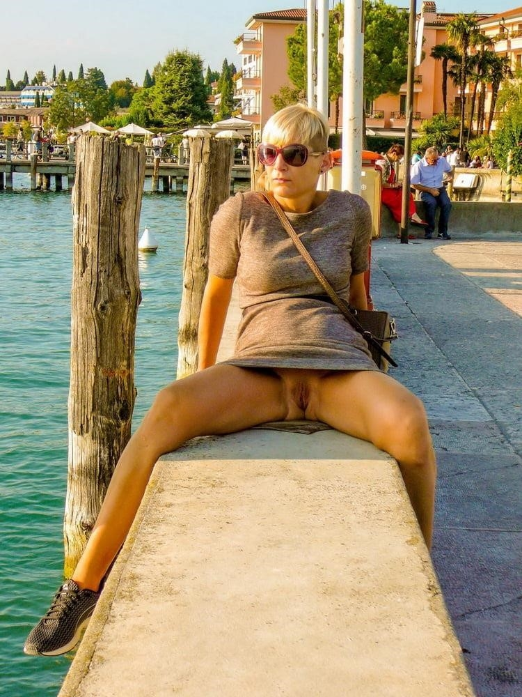 Wife naked in public-6431