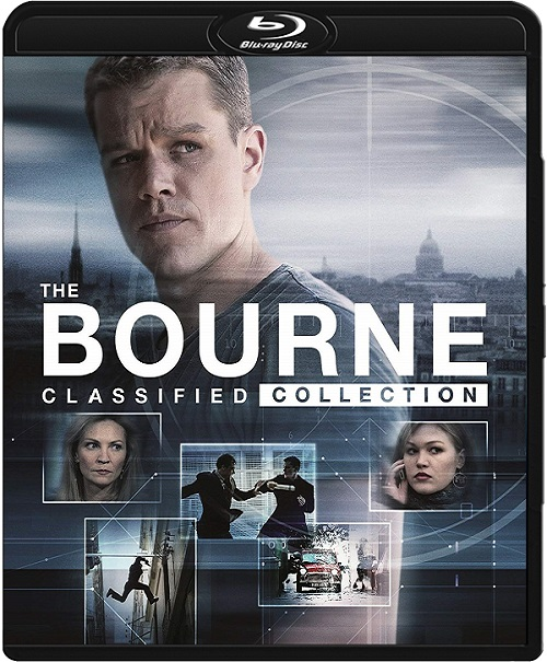 The Bourne (2002-2016) COLLECTiON.MULTi.720p.BluRay.x264.DTS-DENDA / LEKTOR i NAPISY PL