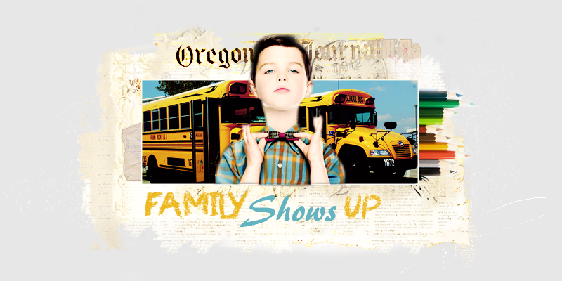 Family shows up
