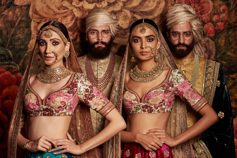 Национальные индийские костюмы в модных коллекциях дизайнера Sabyasachi Mukherji, фотограф Tarun Khiwal
