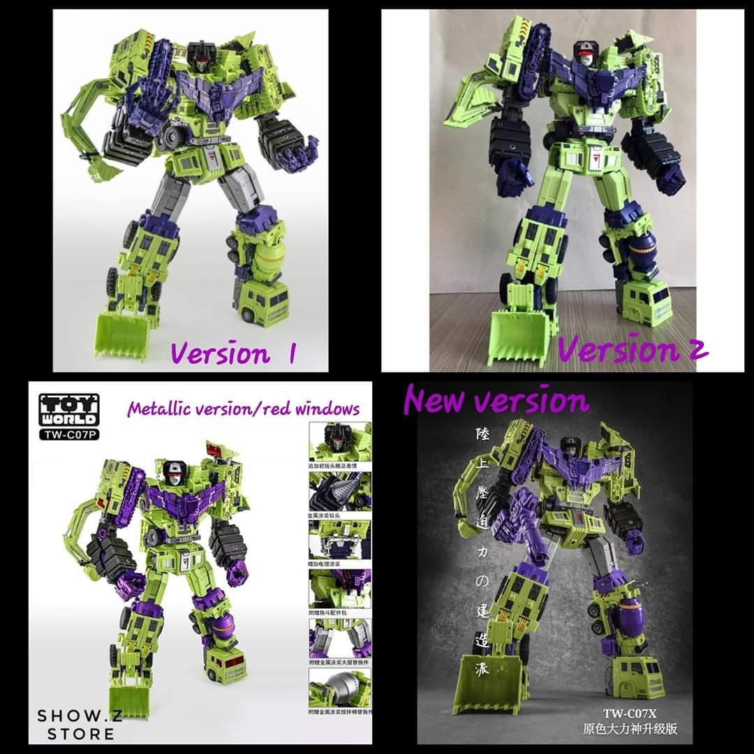 [Toyworld] Produit Tiers - Jouet TW-C Constructor aka Devastator/Dévastateur (Version vert G1 et jaune G2) - Page 10 QnVAUTCB_o