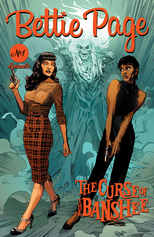 Bettie Page and the Curse of the Banshee #1-5 (2021)