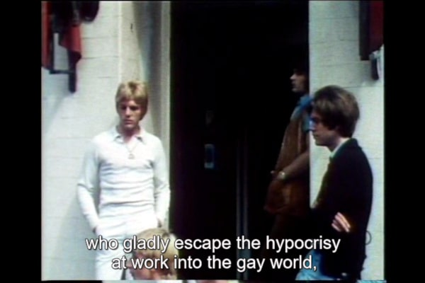 It Is Not the Homosexual Who Is Perverse But the Society in Which He Lives 1971