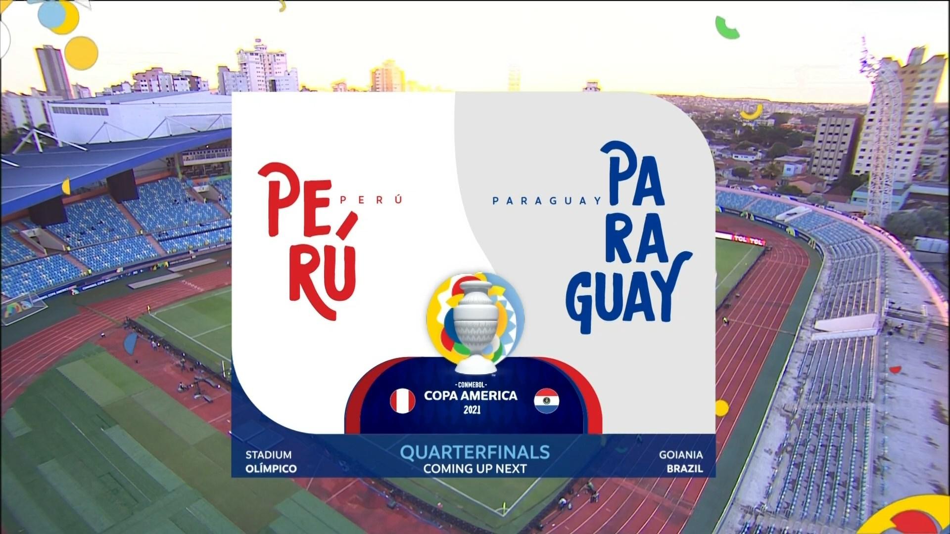 Full match: Peru vs Paraguay