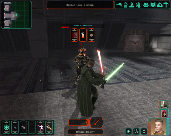 Star Wars Knights of the Old Republic II: The Sith Lords Captura 3