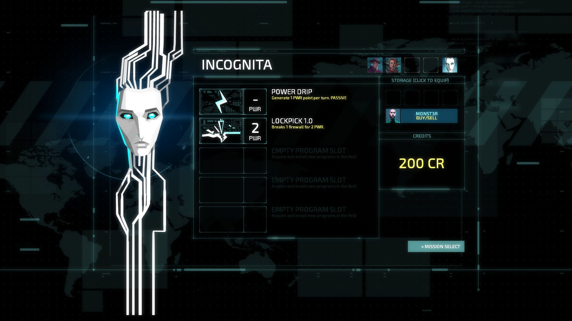 Invisible, Inc. + Contingency Plan DLC Captura 2