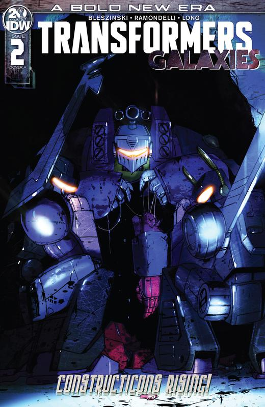 Transformers - Galaxies #1-2 (2019)